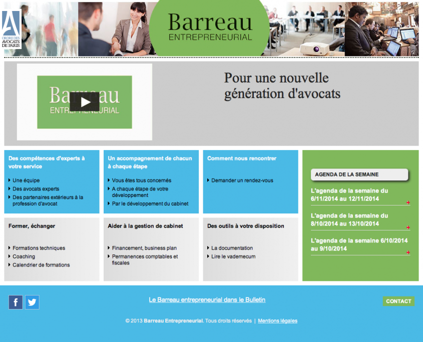 Barreau Entrepreneurial